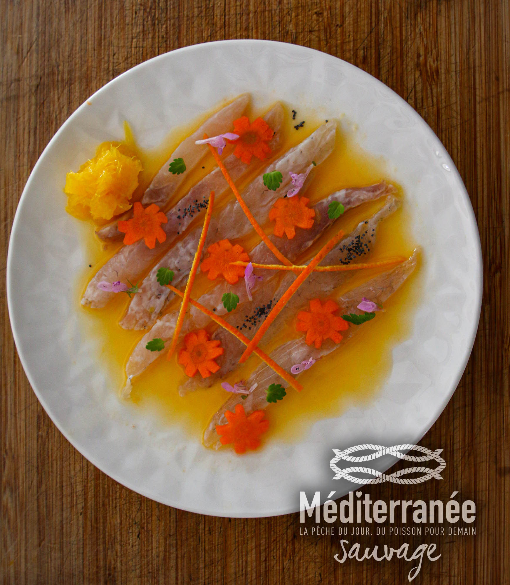 ESCABECHE DE DAURADE à l'Orange